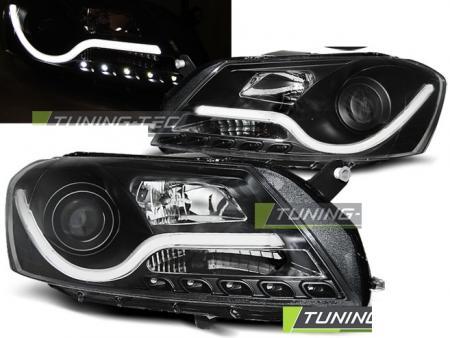 Lampy Przednie Vw Passat B7 10 Black Tube Light Sklep