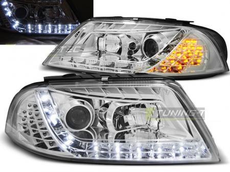 Lampy Vw Passat 3bg B5 Fl 00 05 Daylight Chrome Volkswagen